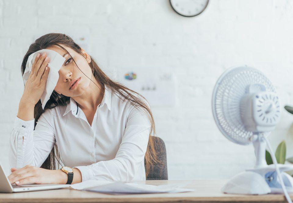 Gezonde werkklimaat temperatuur